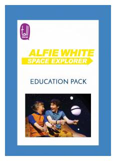 'Alfie White: Space Explorer' education pack