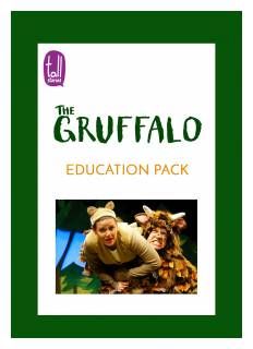 'The Gruffalo' education pack