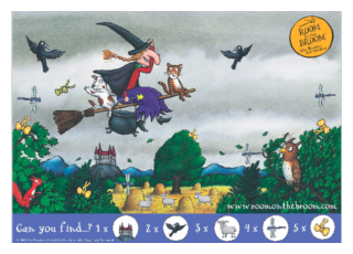 Room on the Broom Activity Sheet