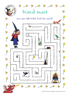 Room on the Broom Maze