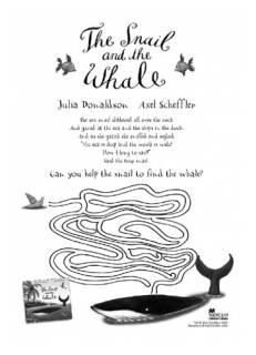 Snail and Whale maze