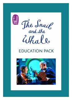 'The Snail and the Whale' education pack
