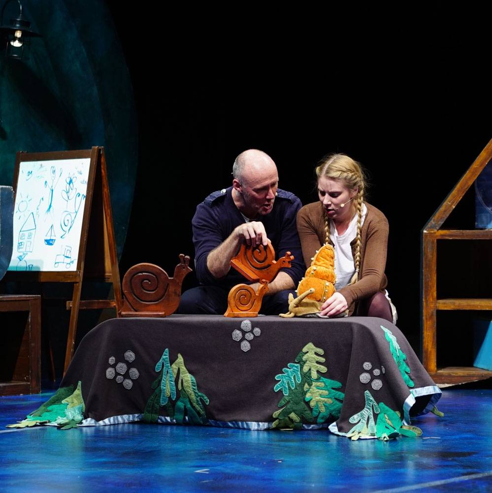 Image result for snail & the whale play